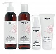 Skin care from Cosmetic set private label bio natural rose comsmetics Sankt-Peterburg