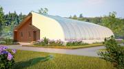 Eco Solar Greenhouse effect project model Санкт-Петербург